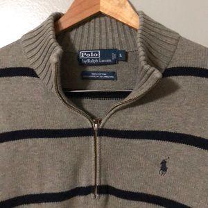 Polo Ralph Lauren Men's 1/4 zip up sweater!